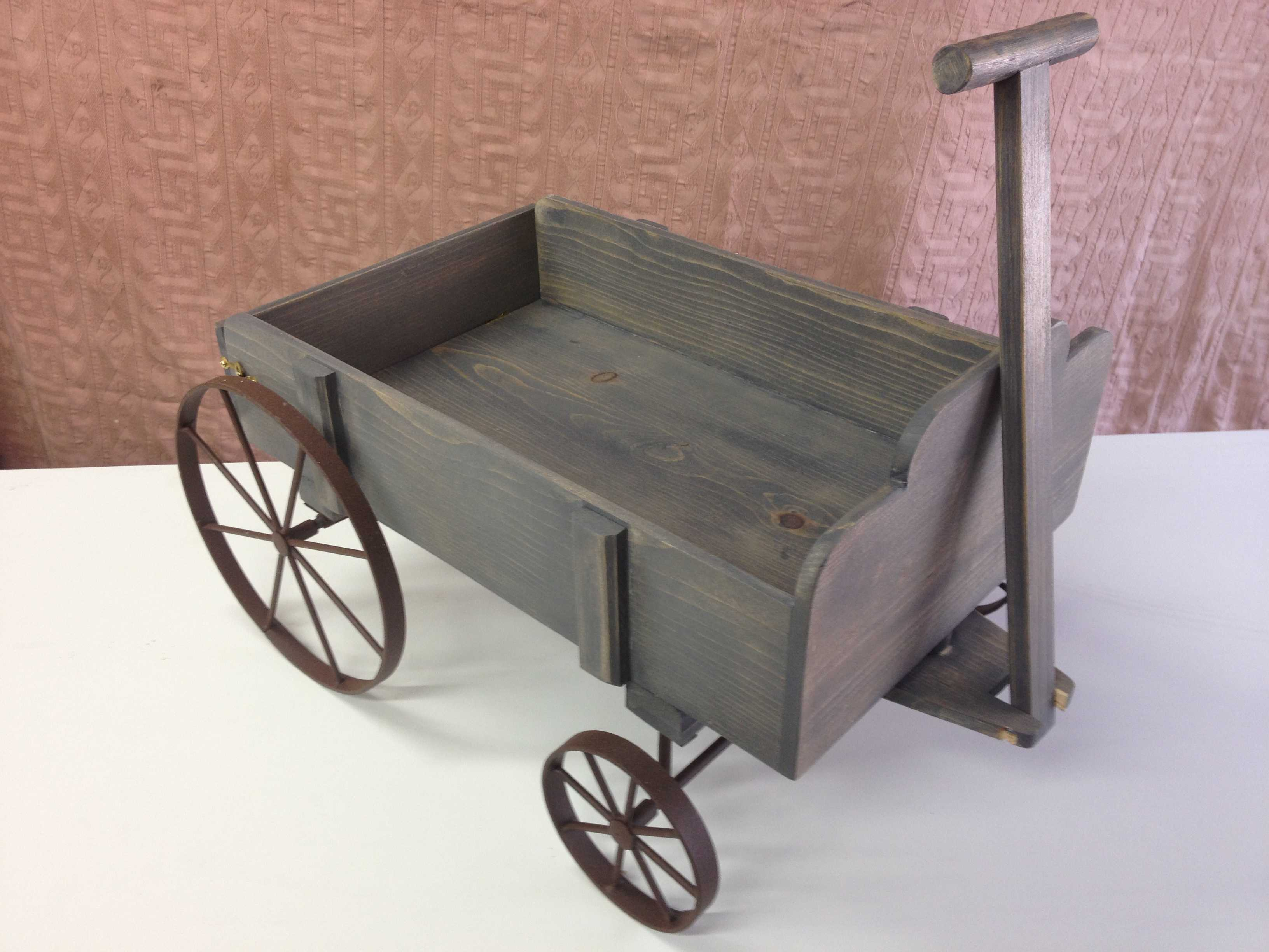 Cherry Wood Furniture wooden wagon original wagon in foreground with reproductions wooden ...